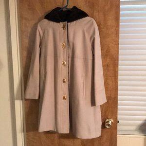 Beautiful Coat With Vegan Shearling Lining